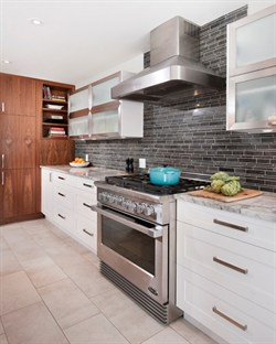 Kitchen With Lower Drawers for Pots and Pans