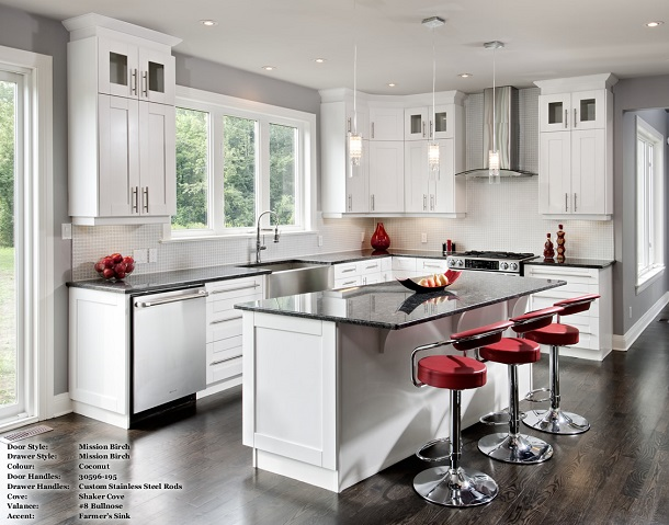 Light Kitchen Cabinets | Can I Have Light Kitchen Cabinets With Dark Floors