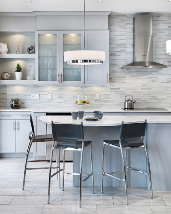 Open Cabinets: Good Design Makes Small Kitchens Look Larger